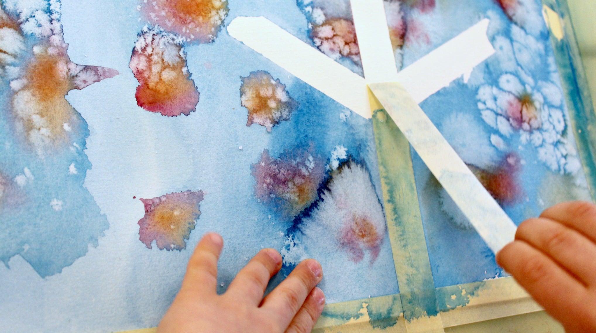 Pourquoi peindre avec des petits?